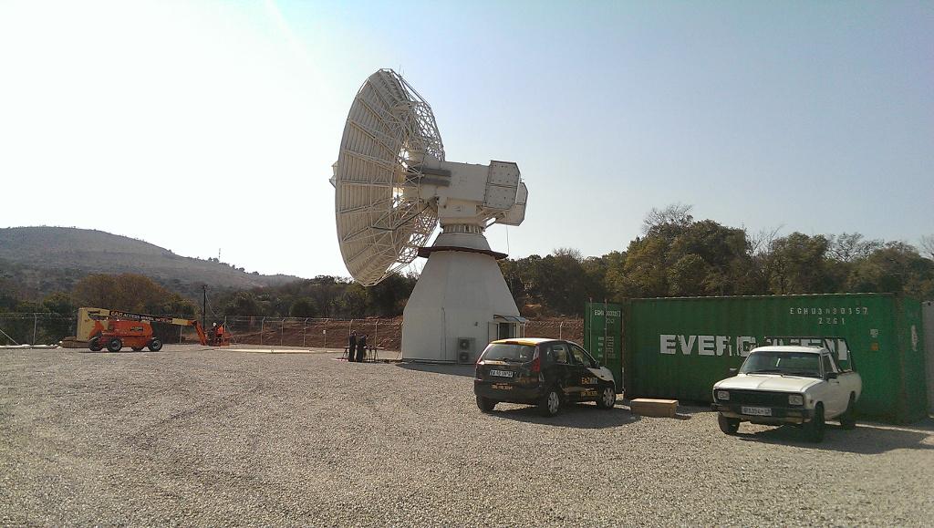 20170714 - View of radio telescope